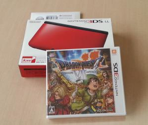 3DS LL & DQ7