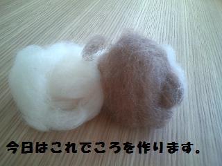 羊毛ころ1
