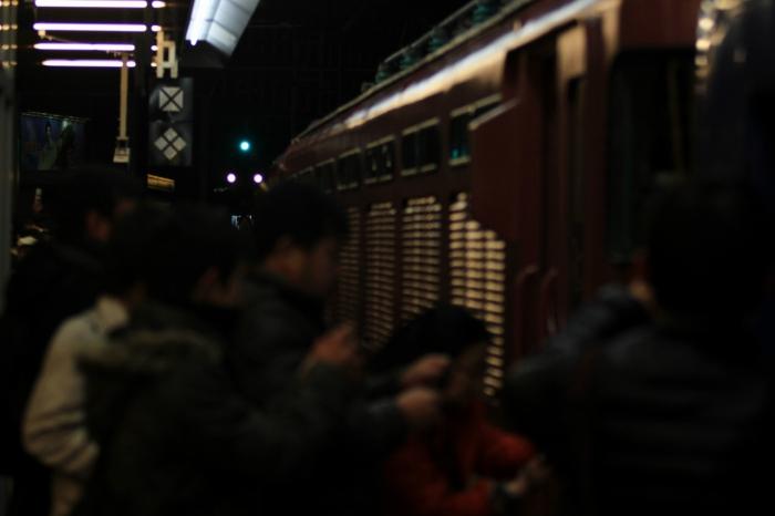 13.01.06 まもなく出発 大阪駅