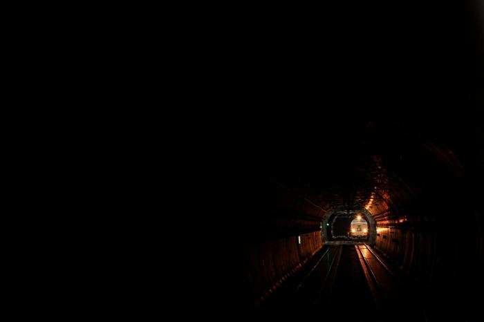 13.03.14 長大トンネルを抜けて 保津峡 183 80-200F2.8L