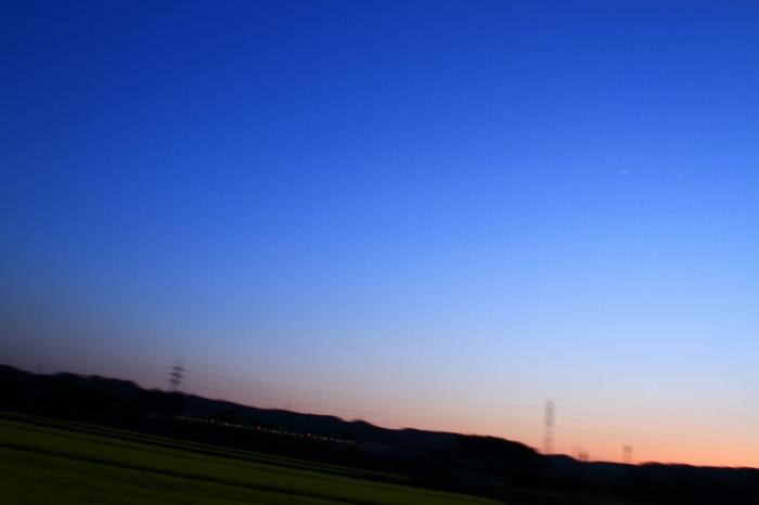 13.04.13 夕暮れ 新旭~近江今津 17-35F2.8L