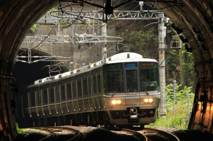13.06.02 トンネル抜き223 北小松~近江高島 tr 70-300F4-5.6L