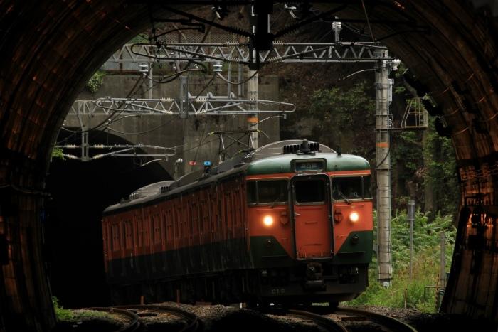 13.06.02 トンネル抜き113C10 北小松~近江高島 tr 70-300F4-5.6L