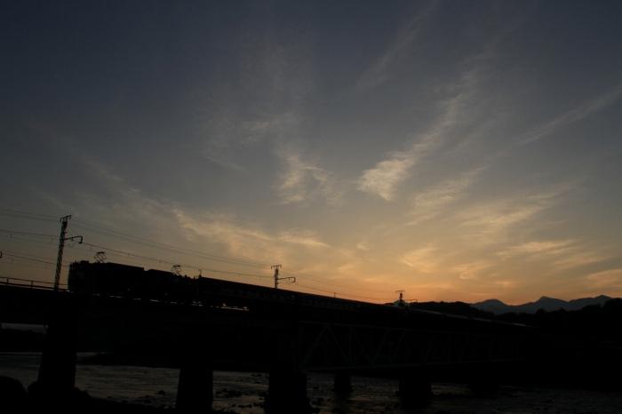 13.06.09 夜明け あけぼの号 渋川~敷島 17-35F2.8L