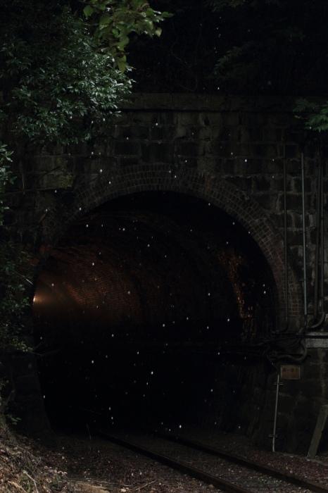 13.09.07 雨滴したたるトンネル出口 玖村~下深川 70-300f4-5.6L