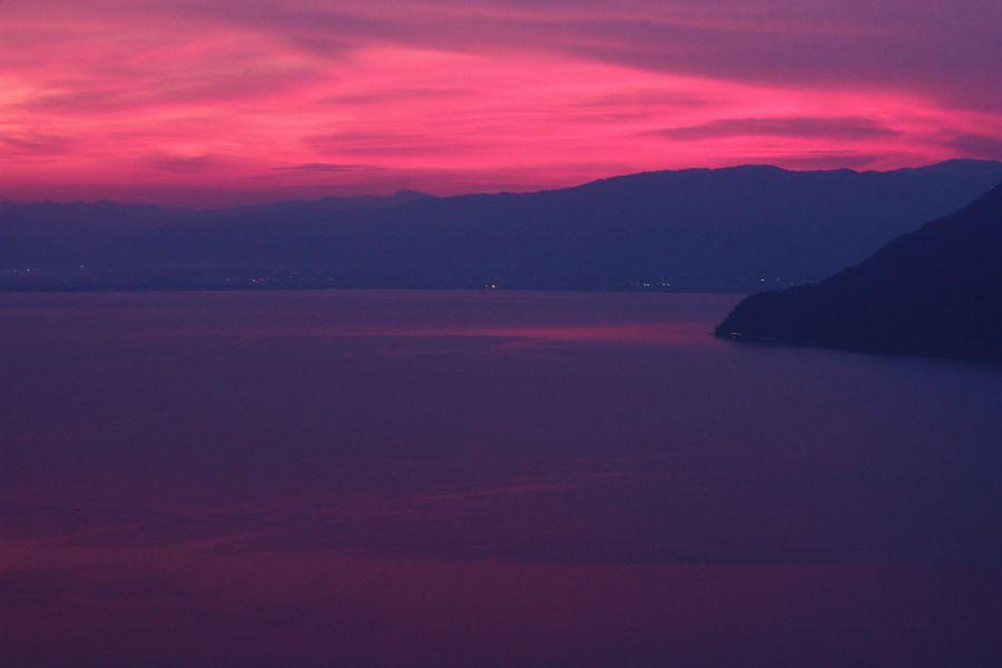 ~ 琵琶湖夕景2