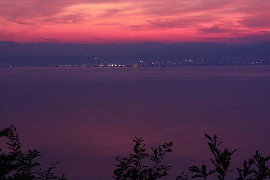 ~ 琵琶湖夕景4