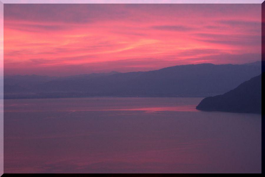 ~ 琵琶湖夕景1