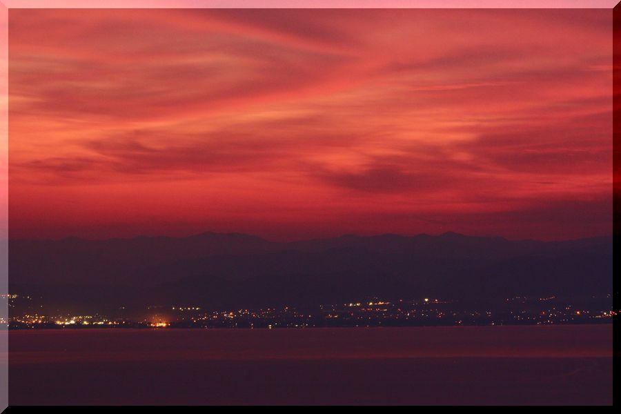 ~ 琵琶湖夕景5