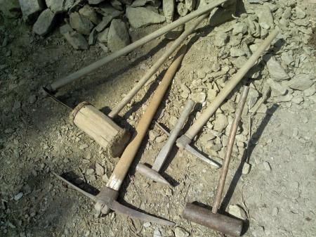 石積み道具