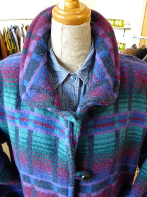 L.L.BEAN WOOL BLANKET COAT ウールコート