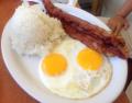 卵とベーコン