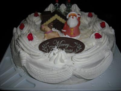 ケーキXmas