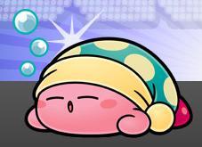 寝てる時用帽子
