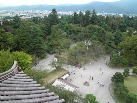 鶴ヶ城 赤瓦
