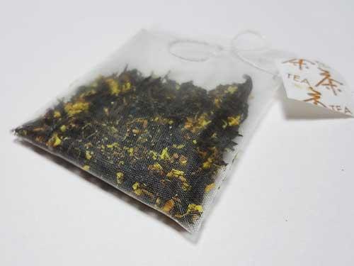 桂花紅茶と桂花プーアール茶