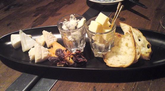 チーズ三種盛り!?