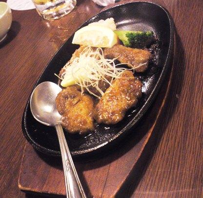 6マグロほほ肉のステーキ