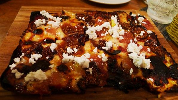 6ゴンザイチジクのピザ