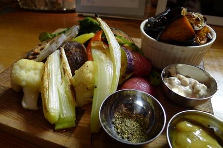 10焼き野菜サラダ