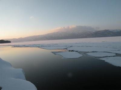 3月6日の屈斜路湖