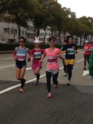 ゆきちゃん マラソン2