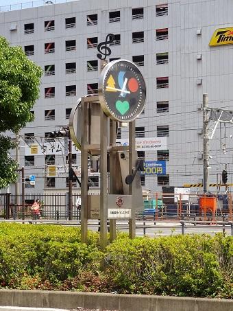川崎駅西口の時計2