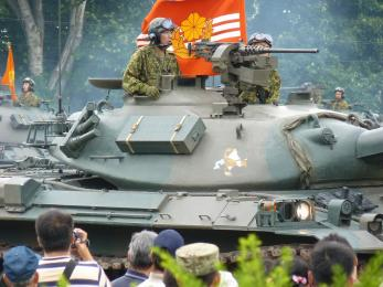 P1010456第1戦車群_本部管理中隊