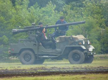 P1010504戦闘訓練展示