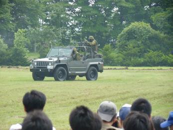 P1010503戦闘訓練展示