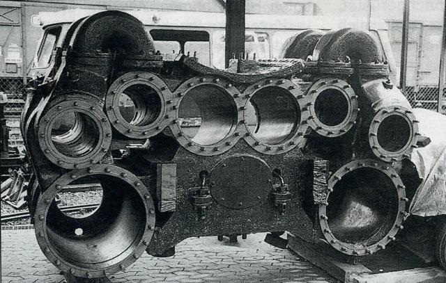 4気筒シリンタ#12441;ー