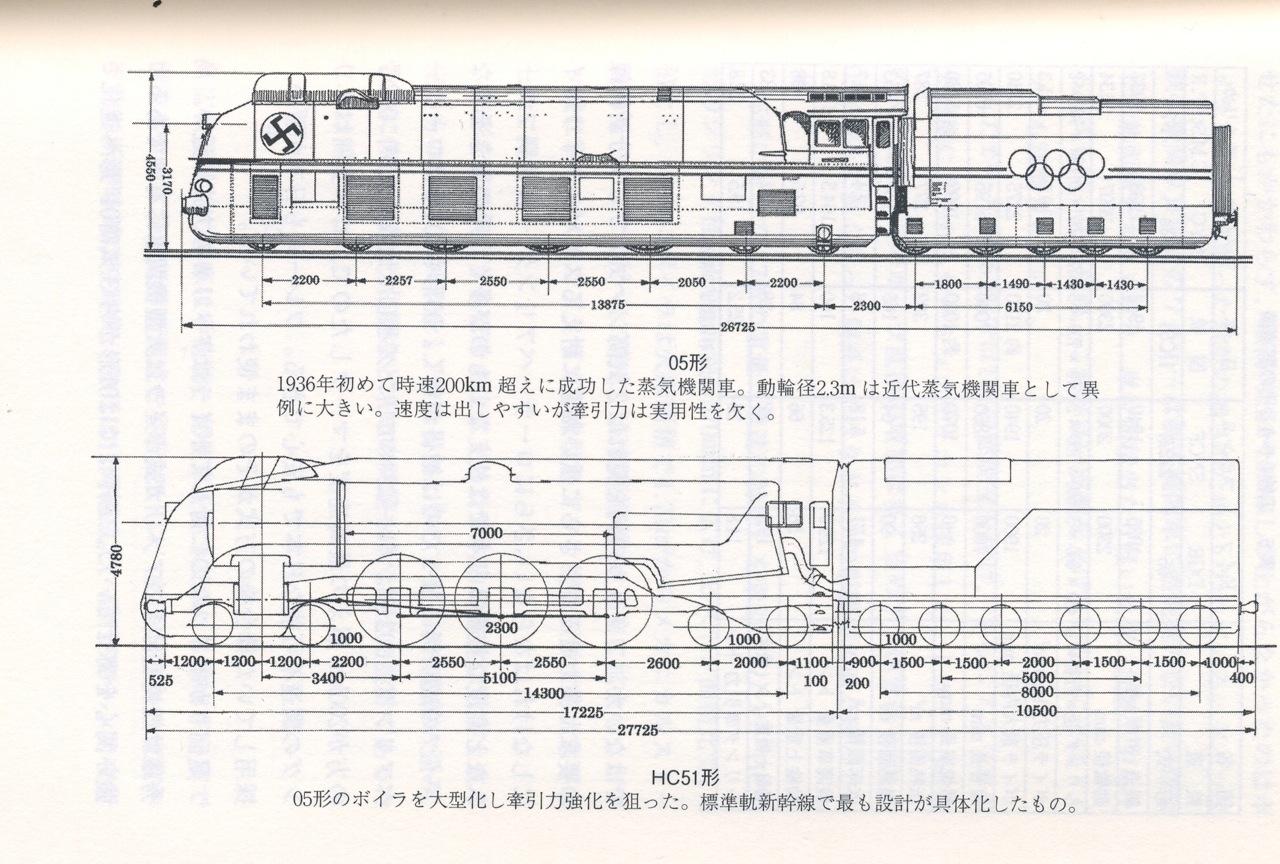 HC51型蒸気機関車