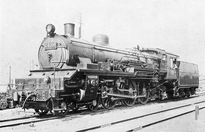 C53 JNR SteamLocomotive