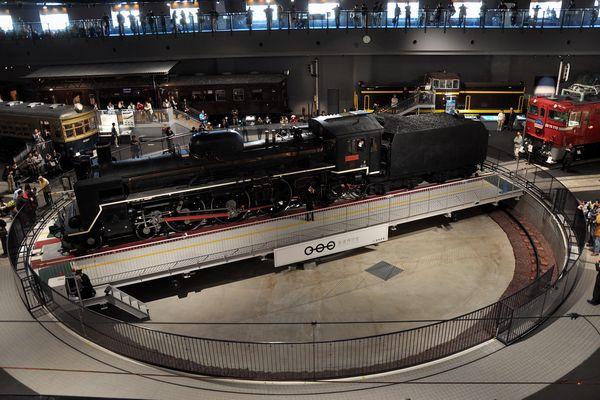 鉄道博物館の転車台