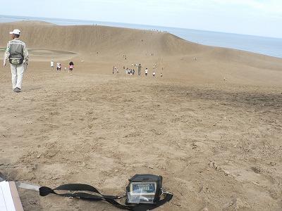 鳥取砂丘入口付近