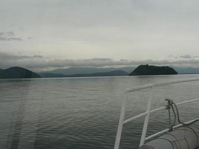 竹生島へは今津港から25分です