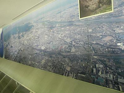 3階の展示です芥川の写真です