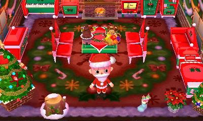 クリスマス部屋完成!