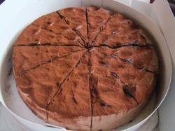 Xmas、チョコケーキ
