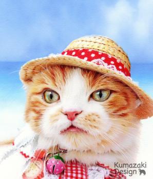 ペット肖像画 ペットの絵 ペット画 ペットイラスト ペット似顔絵 ねこ 猫 子猫