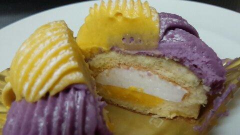 紫芋と南瓜のモンブラン⑤