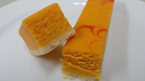 サークルKかぼちゃチーズケーキ③
