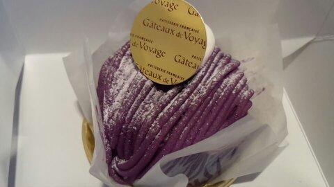 ガトードボワ紫芋①