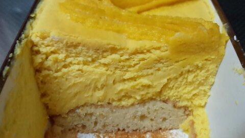 成城石井かぼちゃチーズケーキ③