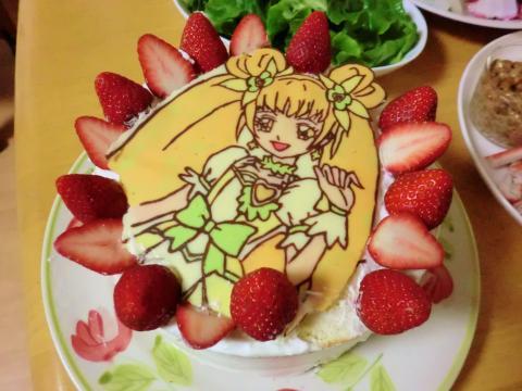 6歳誕生日ケーキ