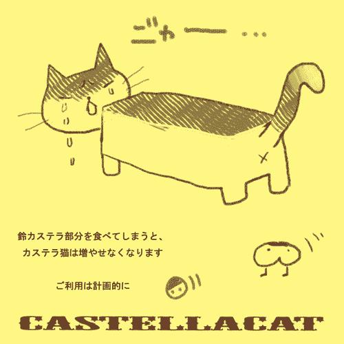 カステラ猫@あさきやかい
