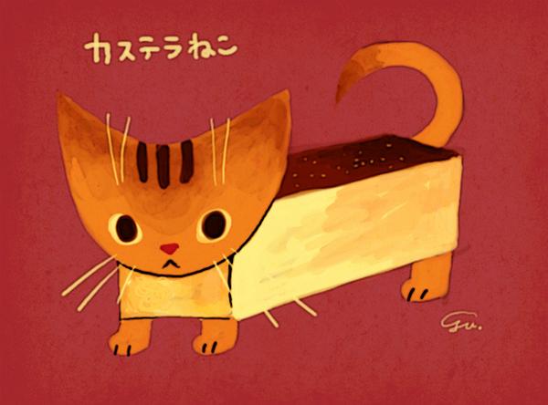 カステラ猫@おでゆ