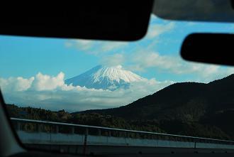 おぉ~富士山じゃ