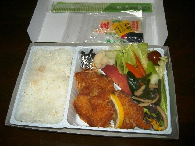 高原野菜とカツの弁当(丸政)