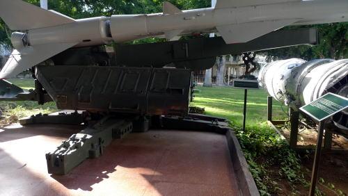 U2スパイ偵察機を打ち落としたミサイル
